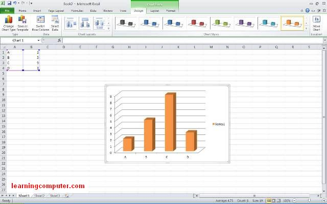 excel microsoft Excel 2010 - Using Graph10