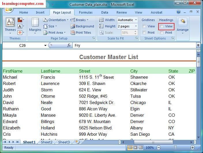 Ms excel 2010 tutorial how to track cash on hand with a for Table design tab excel