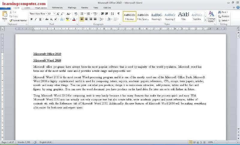 how to draw on a word document 2010