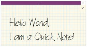 onenote 2016 tutorial quick notes