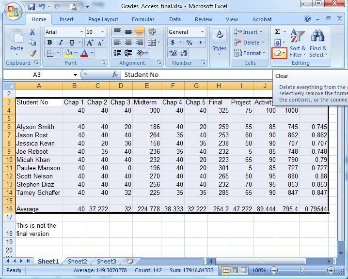 Microsoft Excel Home Tab Tutorial