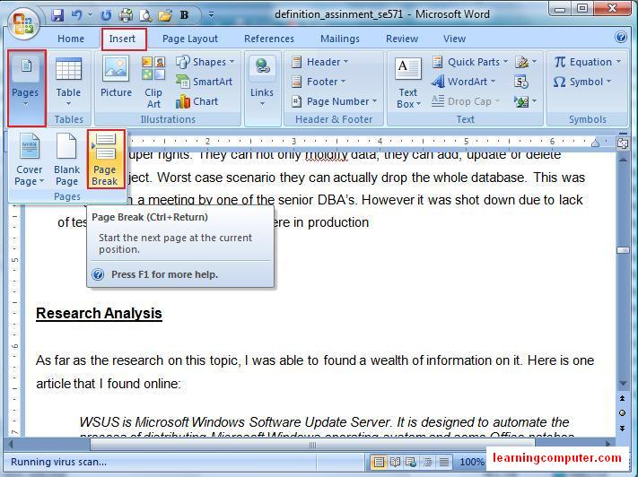 Technology-to-Enhance-Ed - Office 2007 Word tips
