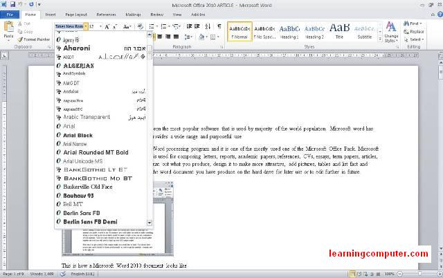 Microsoft-word-2010-home-tab-font styles8