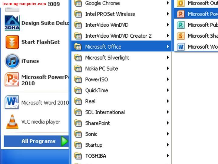 PowerPoint 2010 download How to open2