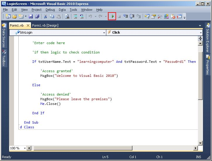 how to visual basic vba download