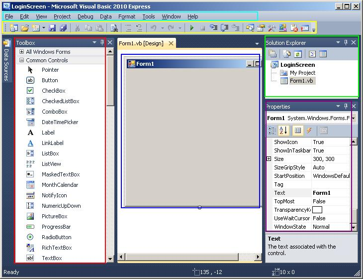what id visual basic is visual basic ide