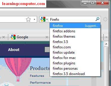 What is Search using Mozilla Firefox