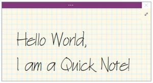 onenote 2016 tutorial quick notes