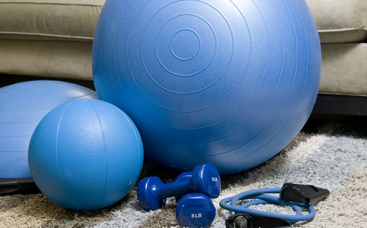 Working from home - Fitness Equipment