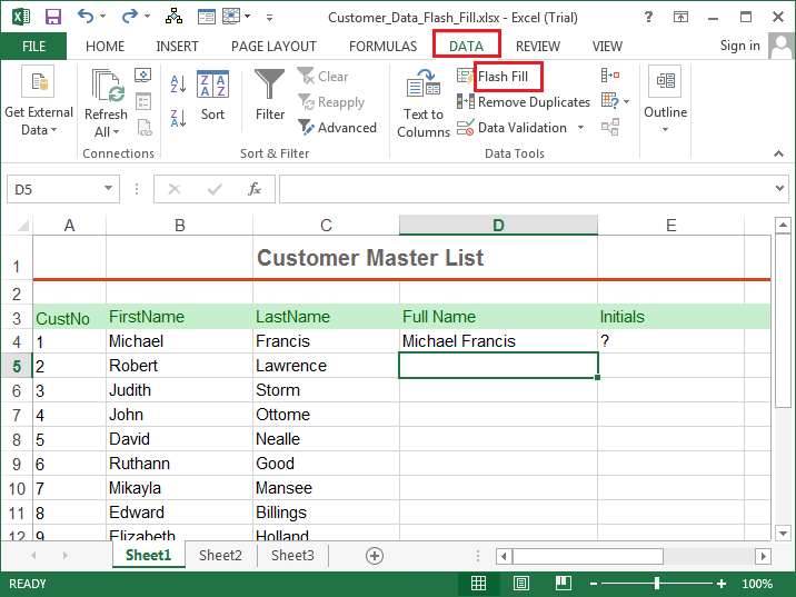 how to create a mailing list in excel 2013