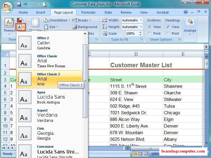 Preview Microsoft Excel
