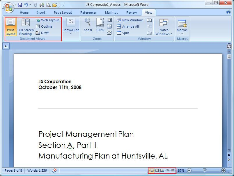 Document View Group